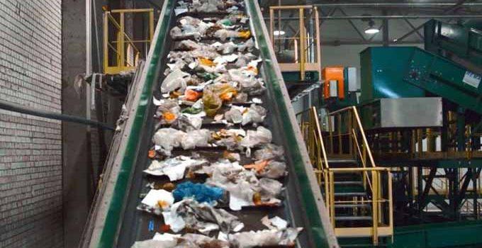 Сортировочная линия тбо (мусора)