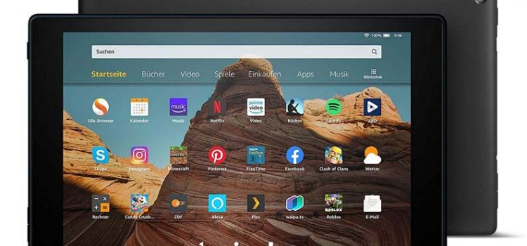 Краткий обзор планшета Fire HD 10 Tablet
