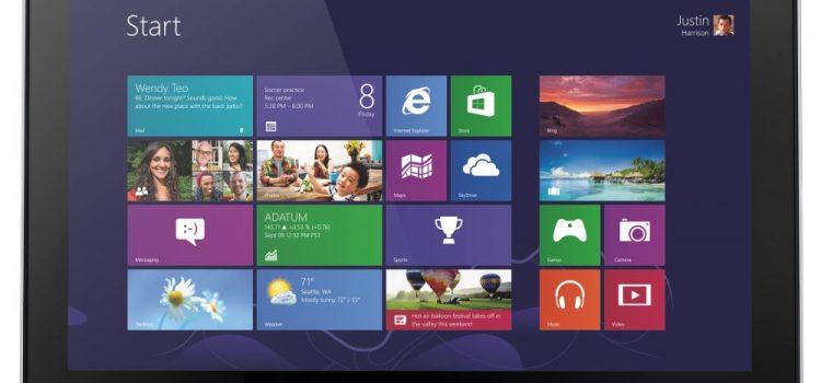 Обзор Acer Iconia Tab W700