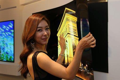 Телевизоры OLED в виде обоев