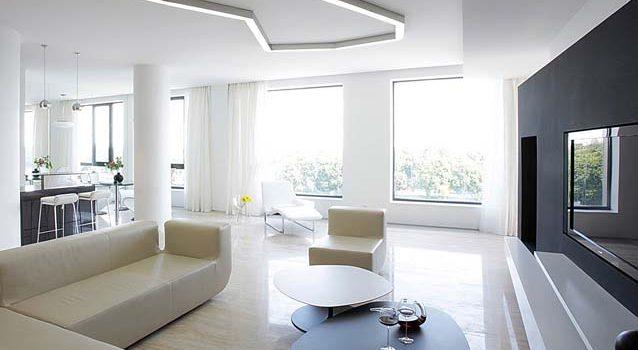 Стиль минимализм в дизайне жилых помещений
