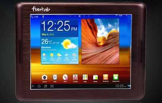 Компания Go Tech представила Android-планшет Funtab 9.1 Fantasy